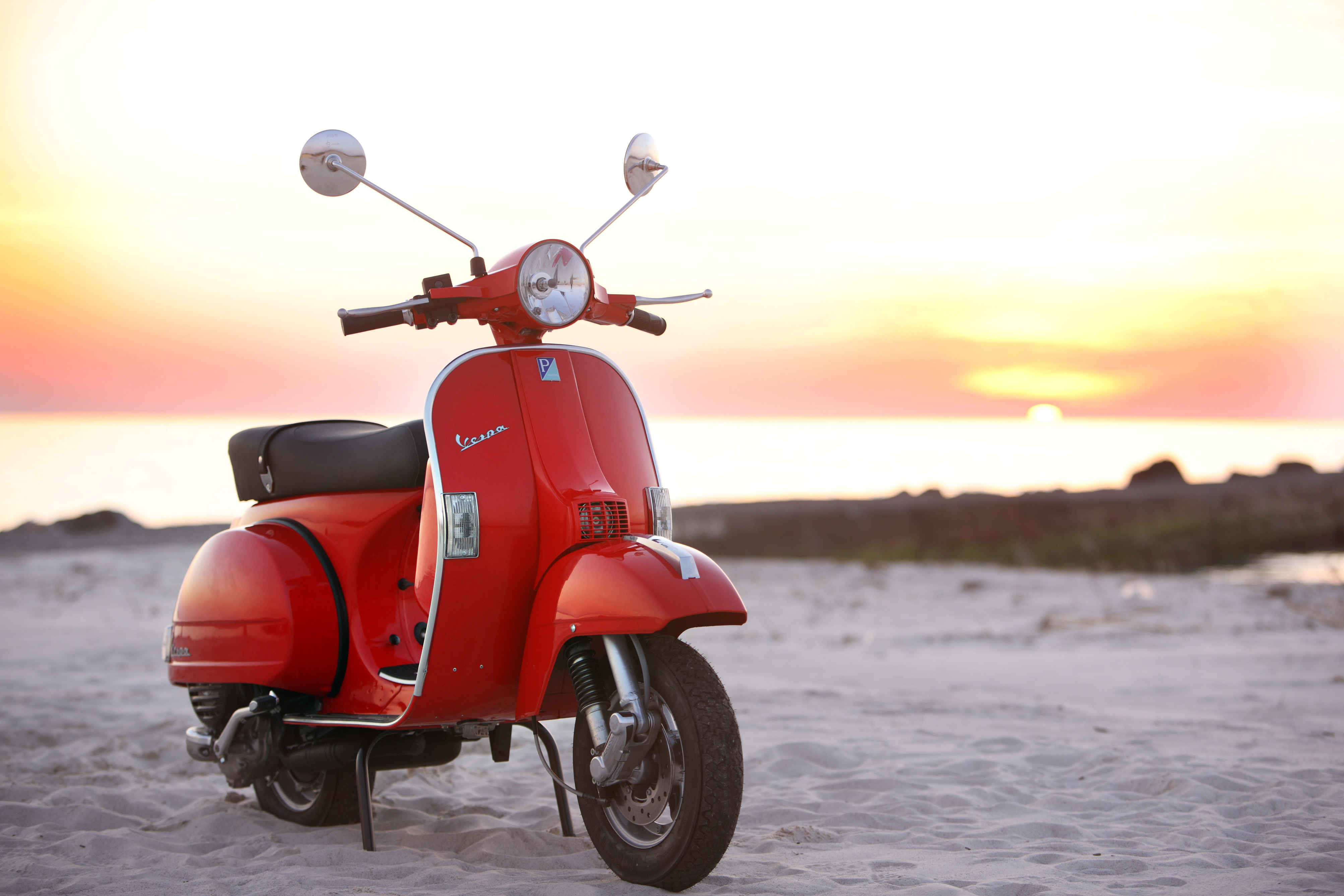 Modern Vespa: The Scooter Is Dressed In Luxury And Latest
