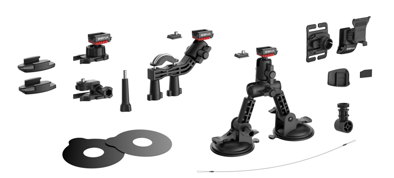 Each camera comes with all these accessories