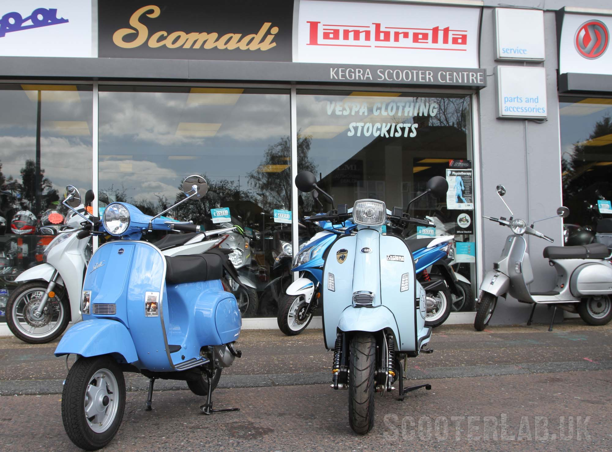 The Scomadi is natural competition for the LML Lite