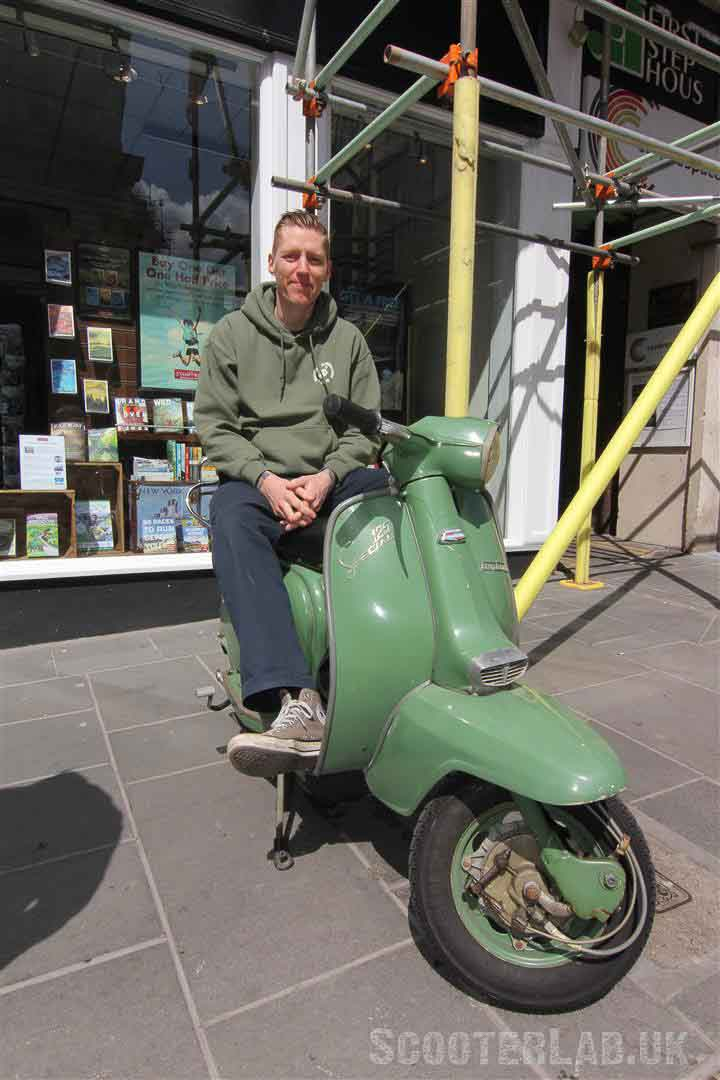 Scott from Big Boss Man on his LiS 125 (Groß)800PX