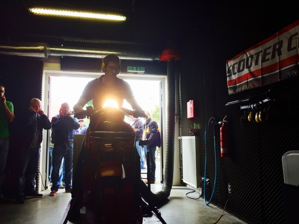 Scooter Center Dyno