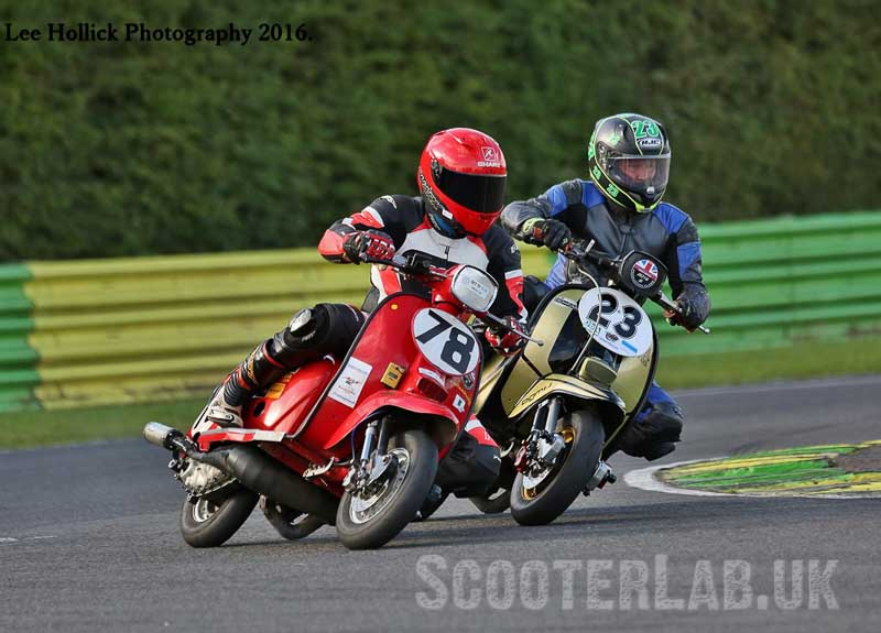 #78 Barrie Braithwaite is focussed and still in with a chance of winning his class
