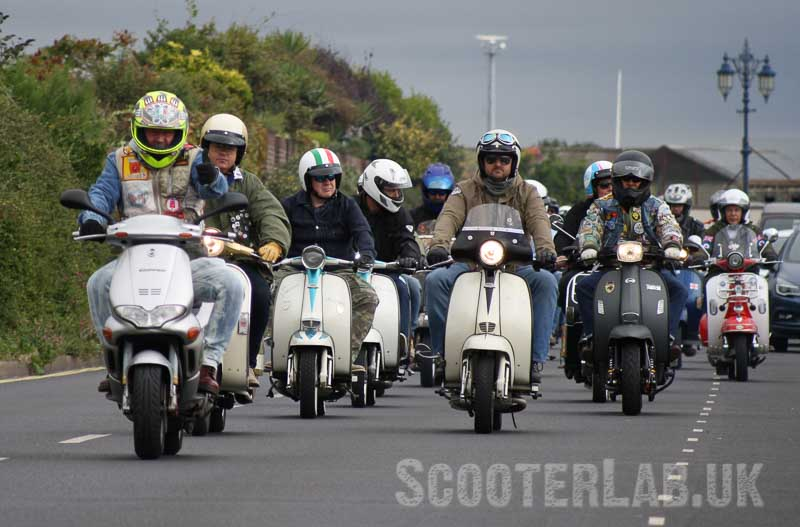Kev's 80s scooter reunion | RALLERY