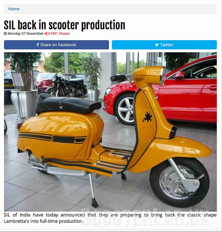 Spoof scooter stories | NEWS