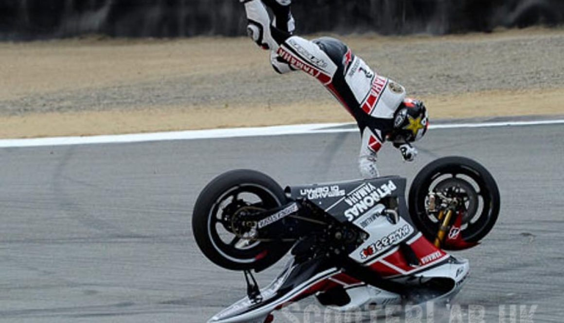 Alpinestars crash