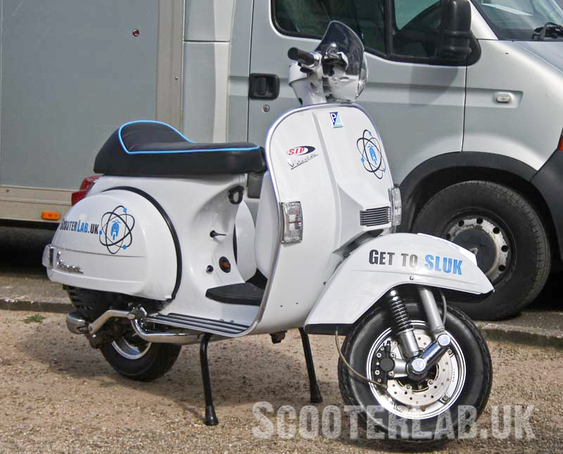 A wasted weekend? Col's Vespa PX blog | FEATURE