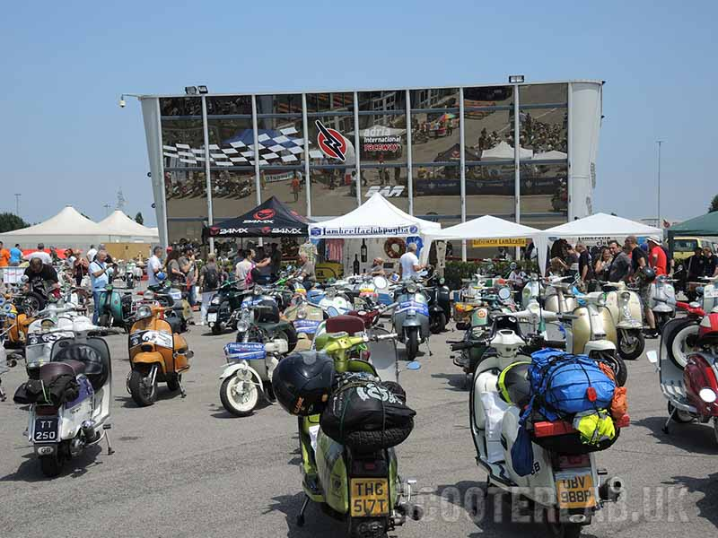 Additional photos by YoLeila. The regional Italian Lambretta clubs gave away free food and drink from their area.