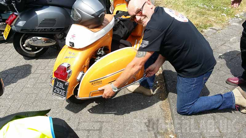 Scooter touring: F.O.S Tours do Lier Belgium 2017 | FEATURE
