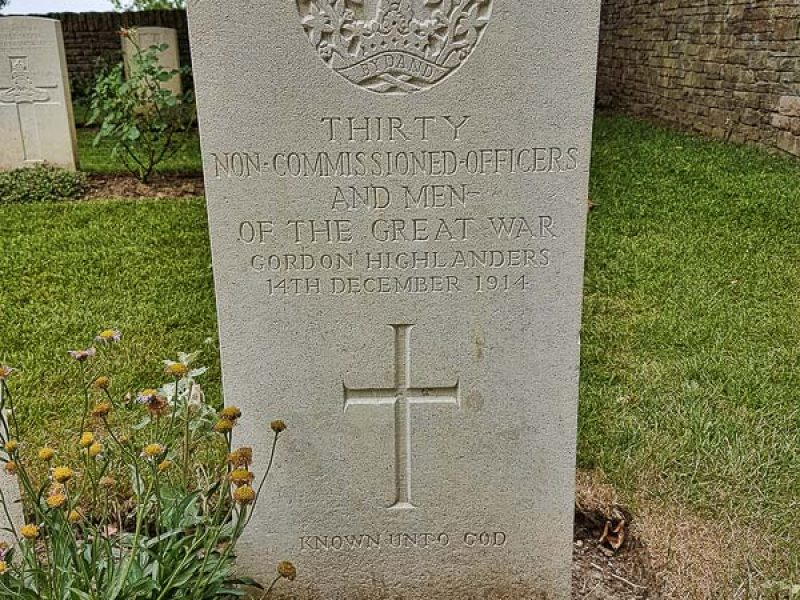 1 - Thirty Officers in One Grave at Irish House Cemetery800