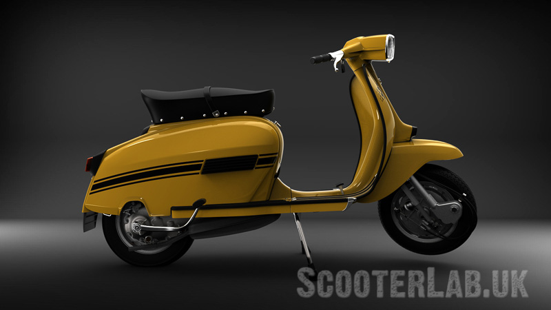 Lambretta GP 200 Electronic – rendering the impossible | FEATURE