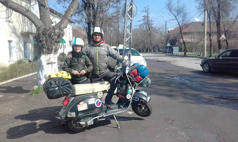 Couple's 100,000km trip by LML 125 | FEATURE