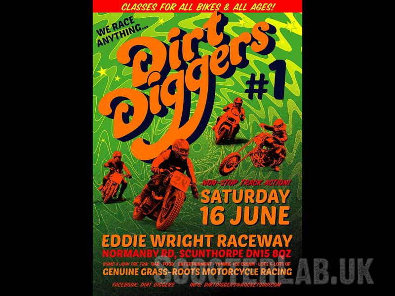 Scooters at Dirt Diggers #1   NEWS