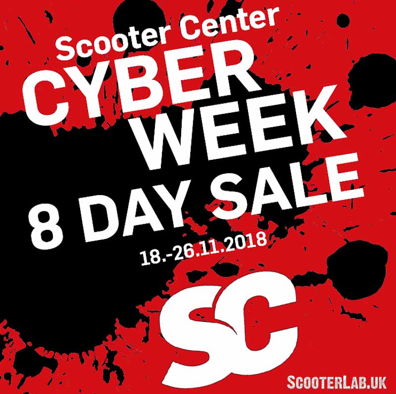 Scooter Center Cologne 10% off everything this week | NEWS