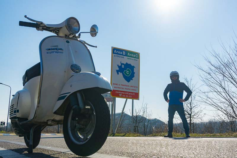 Classic scooters banned from Milan from today | NEWS
