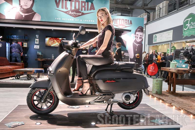 EICMA 2019 Victoria Nicky scooter with Piaggio-based 300 engine | NEWS