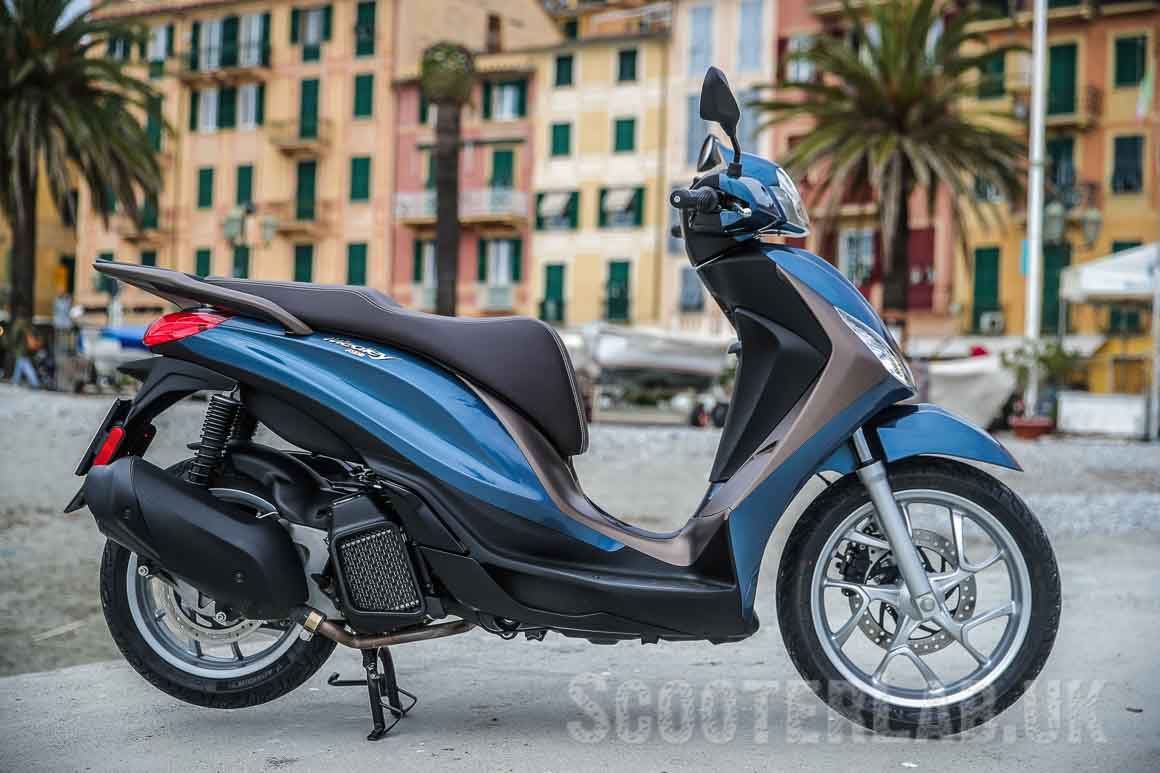 Available now from your local Piaggio dealer...