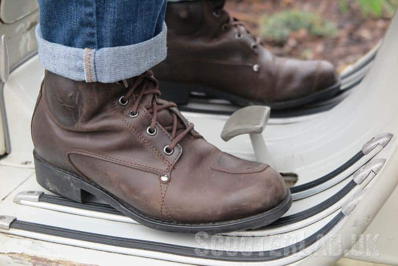 Good grip and they look great with riding jeans