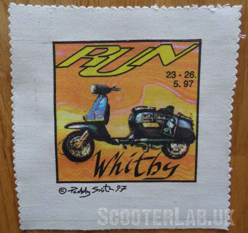 1997 was the first and only time Paddy Smith made a rally patch for the Whitby Run.