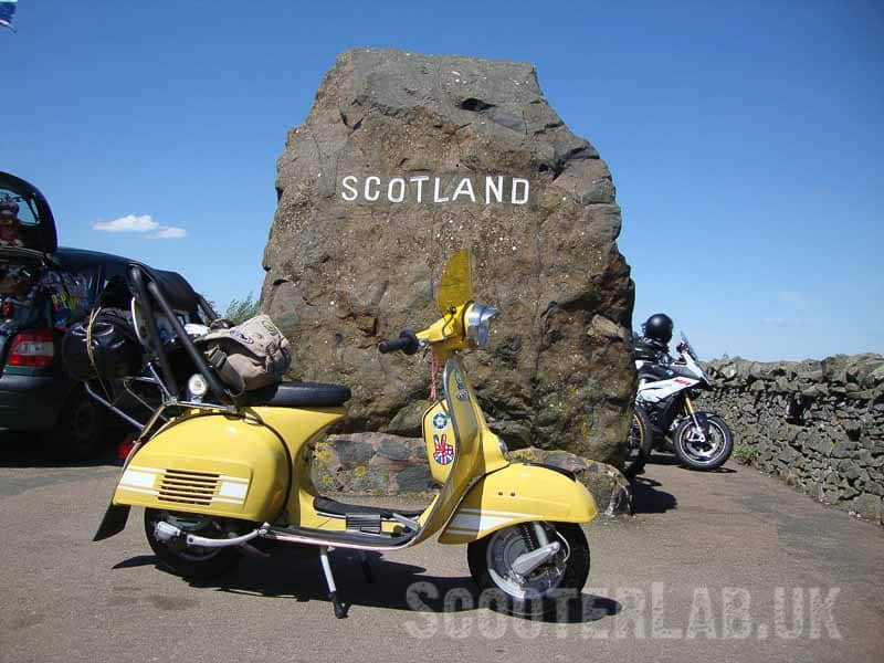 A SLUK back at Kelso National Scooter Rallies | NOSTALGIA