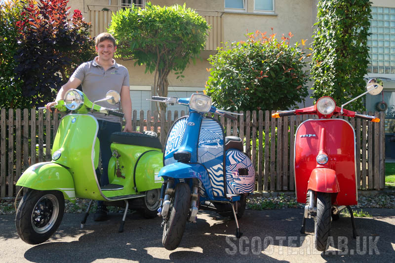 Felix Richter from KR Automation is yet another German scooterist with a fetish for milled metal parts. Who is he and how can his products improve your life?