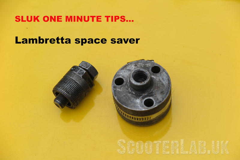 SLUK one minute tips #1 'Snooty's' Space saver | FEATURE