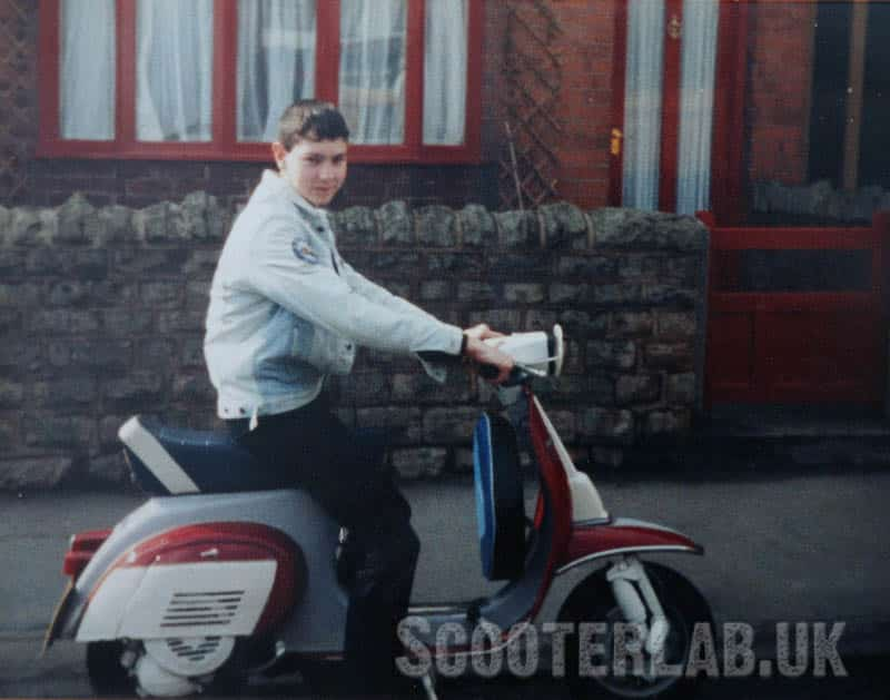 Do you remember that feeling when you could finally ride a scooter? Iggy at 16 on his 50 Special
