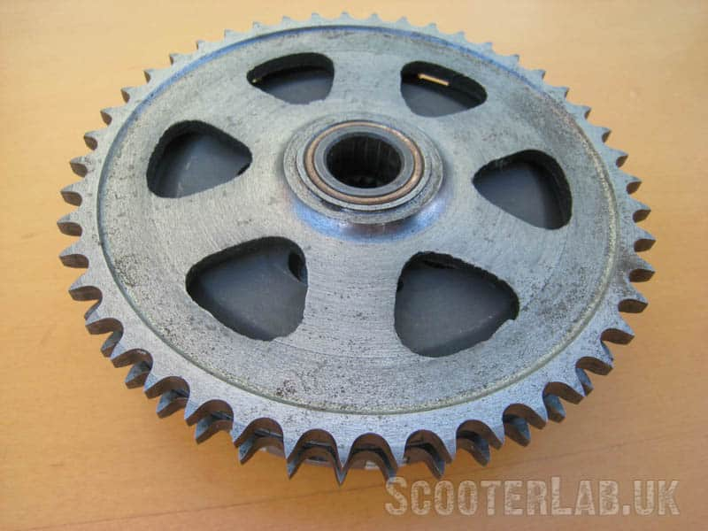 Finishing of the AF Road clutch is best described as 'rustic'