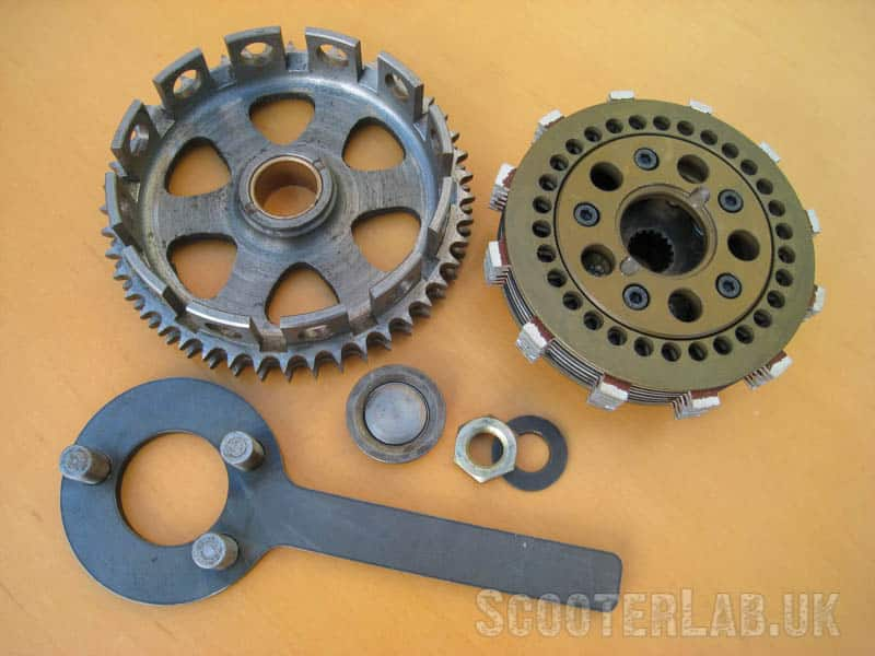 AF's 6-plate Road clutch is great VFM even if it isn't perfectly concentric