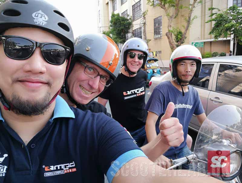 Scooter Center go scooter finding in Thailand | NEWS