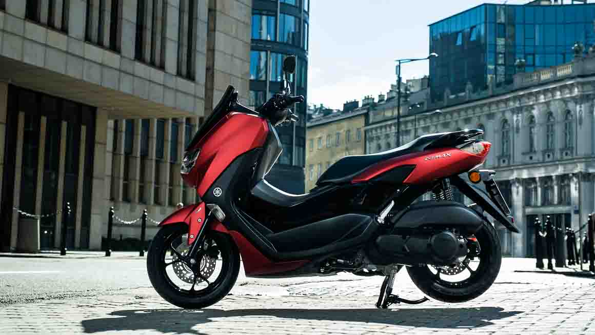 It's sleek, well finished and unmistakably part of the Yamaha MAX family