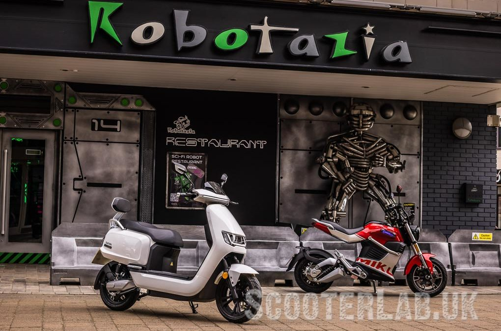 Sunra Robo S and Miku Super – electric scooters   ROAD TEST